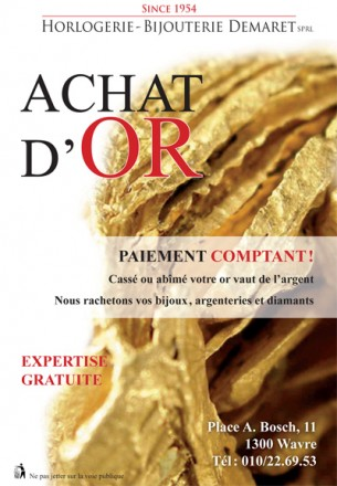 Achat d'or